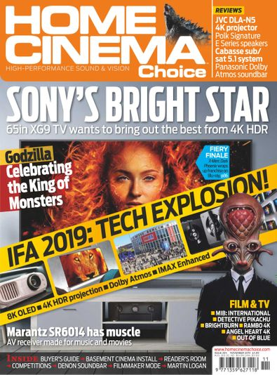 Home Cinema Choice (UK) magazine cover
