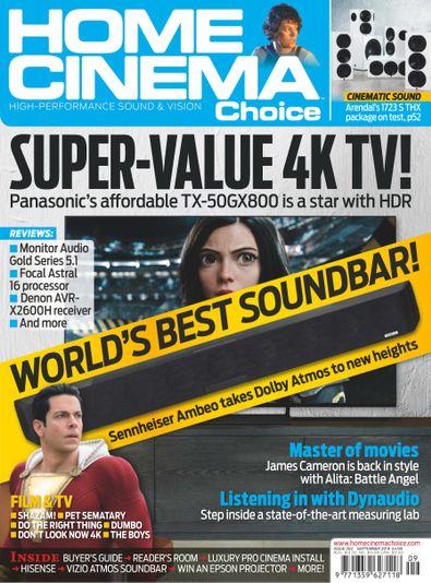 Home Cinema Choice (UK) magazine cover