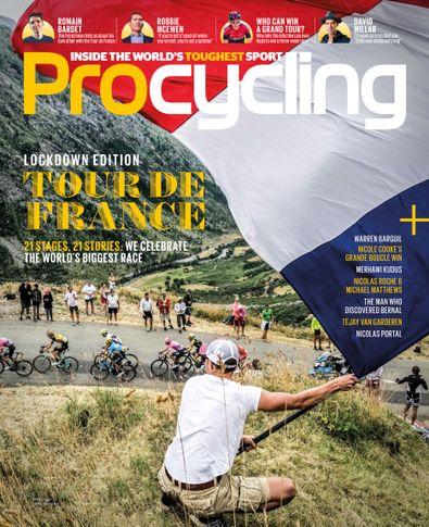 Pro Cycling (UK) magazine cover