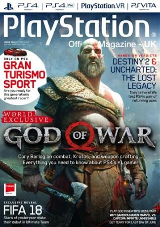 Playstation Official (UK) magazine cover