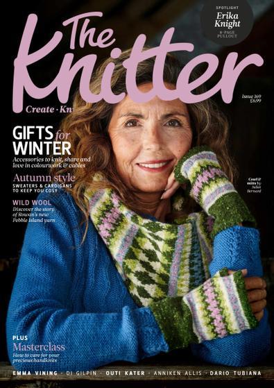 The Knitter (UK) magazine cover