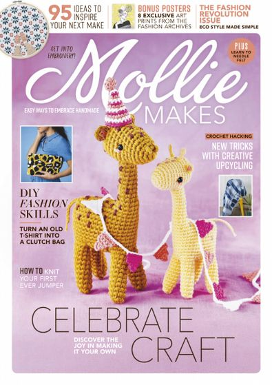 Mollie Makes (UK) magazine cover