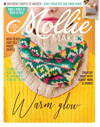 Mollie Makes (UK) magazine cover