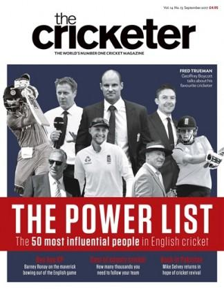 The Cricketer (UK) magazine cover
