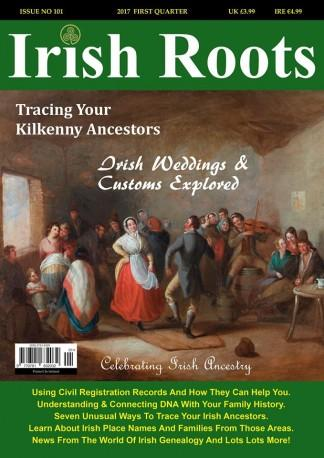 Irish Roots (UK) magazine cover
