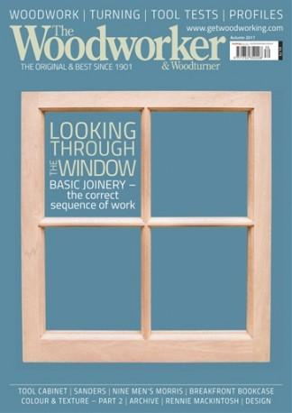 The Woodworker (UK) magazine cover