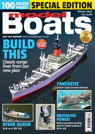 Model Boats (UK) magazine cover