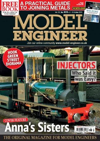Model Engineer (UK) magazine cover