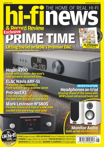 Hi-Fi News (UK) - 12 Month Subscription | 6000000033375