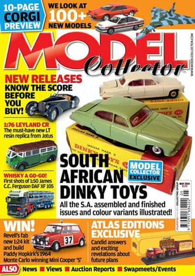 Model Collector (UK) magazine cover