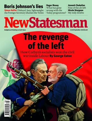 New Statesman (UK) magazine cover