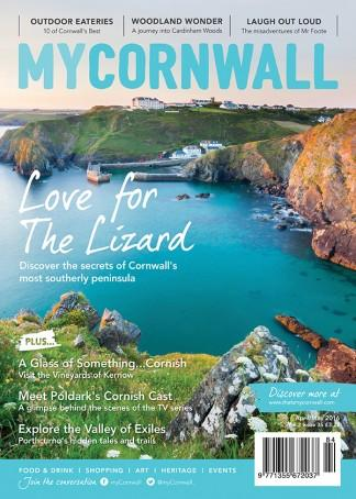 myCornwall (UK) magazine cover