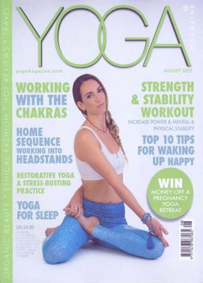 Yoga Magazine (UK) cover