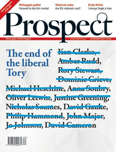 Prospect (UK) magazine cover