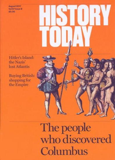 History Today (UK) magazine cover