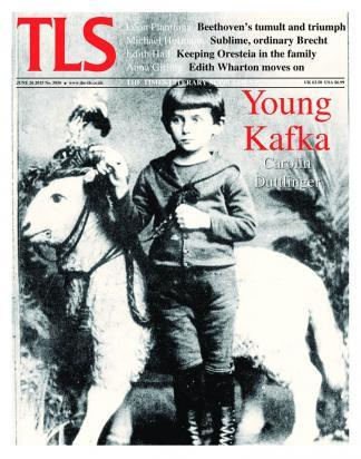 TLS (UK) magazine cover