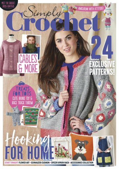 Simply Crochet (UK) magazine cover