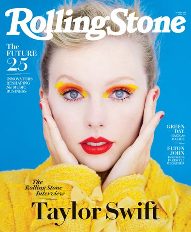 ROLLING STONE (USA) magazine cover