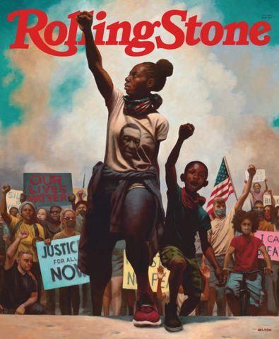 ROLLING STONE (USA) magazine cover