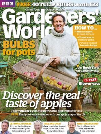 BBC Gardeners' World (UK) magazine cover