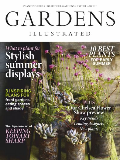 Gardens Illustrated (UK) magazine cover