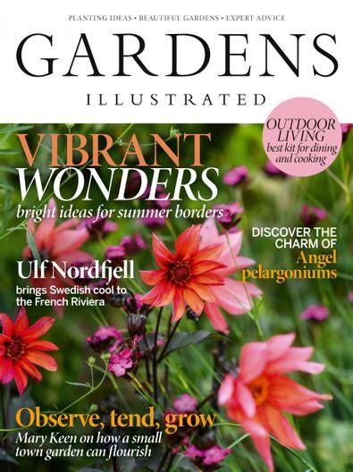 Gardens Illustrated (UK) magazine cover