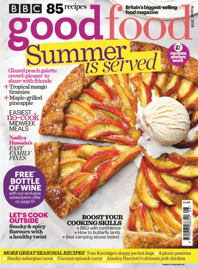 BBC Good Food (UK) magazine cover
