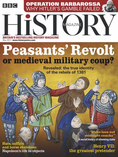 BBC History (UK) magazine cover