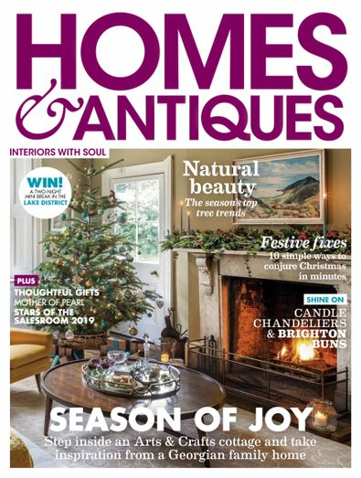 Homes & Antiques (UK) magazine cover