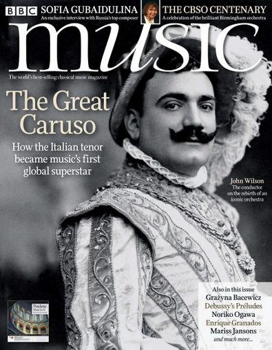 BBC Music (UK) magazine cover