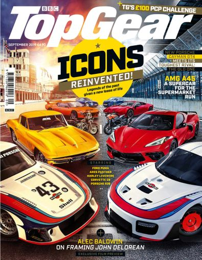 Top Gear (UK) magazine cover