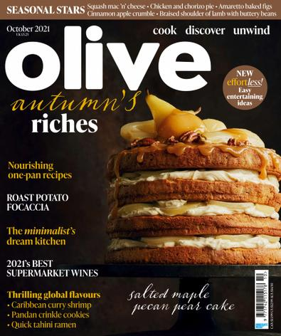 Olive (UK) magazine cover