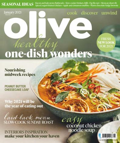 Olive (UK) magazine cover