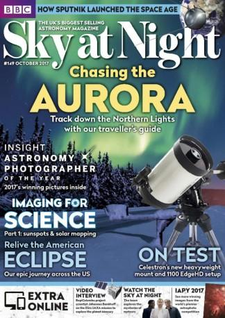 Sky at Night Magazine (UK) cover