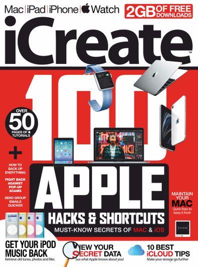 iCreate (UK) magazine cover