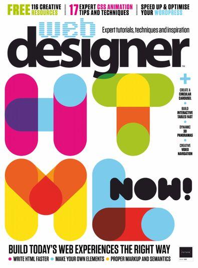 Web Designer (UK) magazine cover