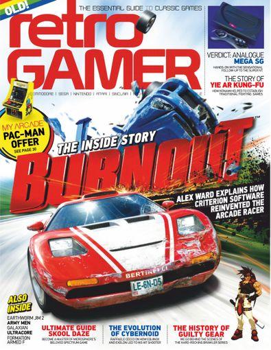 Retro Gamer (UK) magazine cover
