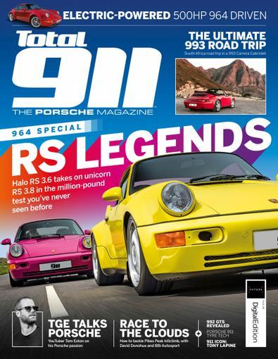 Total 911 (UK) magazine cover