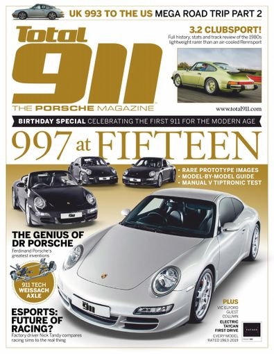 Total 911 (UK) magazine cover