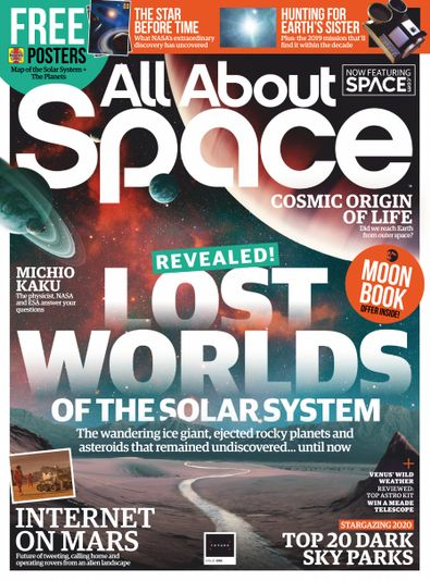 All About Space (UK) magazine cover