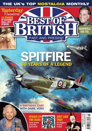 Best Of British (UK) magazine cover