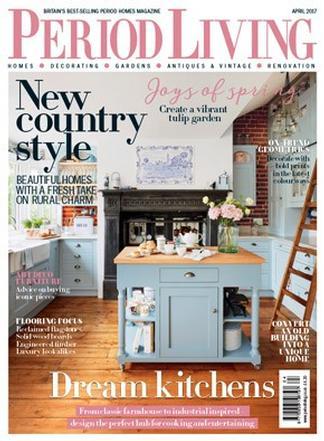Period Living (UK) magazine cover