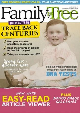 Family Tree (UK) magazine cover