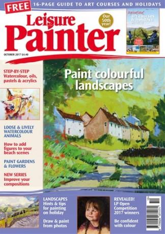 Leisure Painter (UK) magazine cover