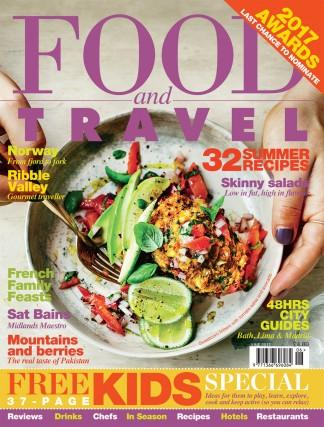 Food and Travel (UK) magazine cover