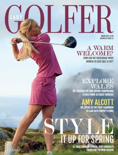 Lady Golfer (UK) magazine cover