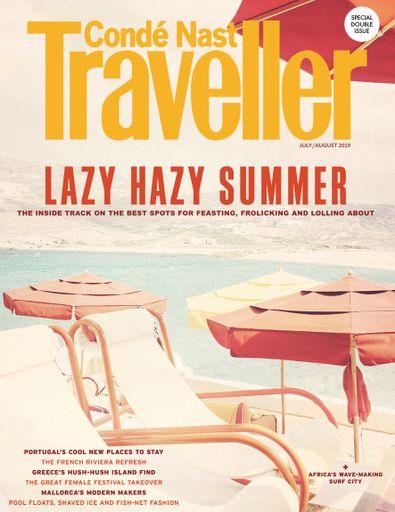 Conde Nast Traveller (UK) magazine cover