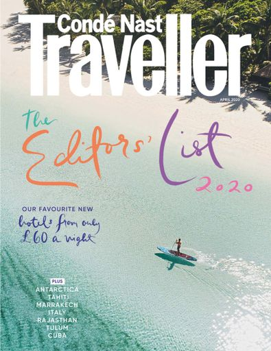 Conde Nast Traveller (UK) magazine cover