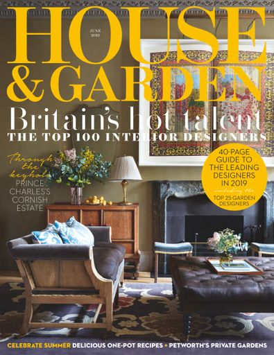 House & Garden (UK) magazine cover