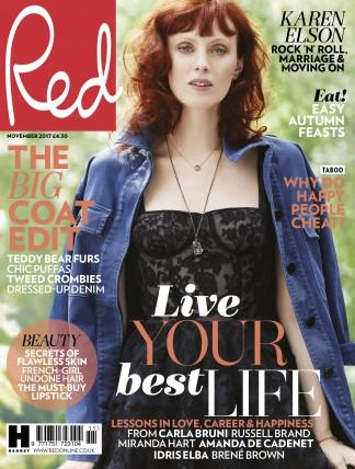 Red (UK) magazine cover